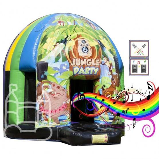 Disco fun jungle party