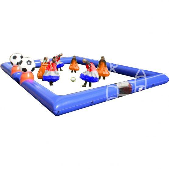 Rokvoetbal 3 tegen 3 incl boarding 12x9m huren